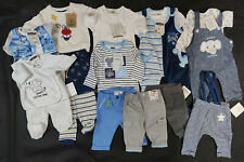 Baby bekleidungs paket 50 56 62 junge NEU 12 Teile + GESCHENK