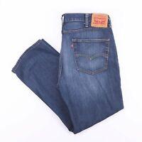 Vintage LEVI'S 514 Slim Straight Fit Men's Blue Jeans W38 L30