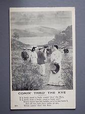 R&L Postcard: HGL Living Picture, Comin Thro the Rye