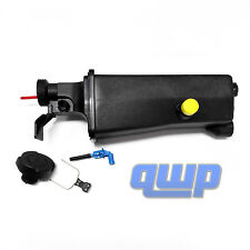 BMW 3 Series Overflow Expansion Tank Radiator Bottle Reservoir +Cap +Sensor 325