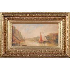 FTN030-LS020-2, Niagara Furniture, Hudson River Scene, Oil Paintings