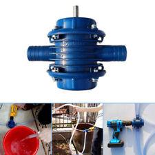 Liquids Water Pumping Pump 1000-3500r/m Powered Plumbing Heavy Duty Drill Syphon