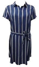 Knee Length Cotton/Polyester Shirt Dresses for Women