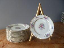 "VTG Bavaria Tirschenreuth Germany ""The Queens Rose"" 6.25"" Bread/Desert plate"