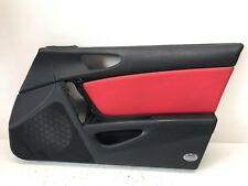 2004-2008 MAZDA RX-8 OEM RIGHT RH FRONT DOOR PANEL COVER RED BLACK USED