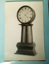Antique Lemuel Curtis Style Floor Clock Salesman's Photograph