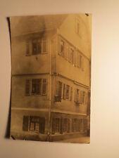 Spritzen-Str. Spritzenstraße 1915 - Wasch & ... Geschäft von Wilhelmine ? / Foto
