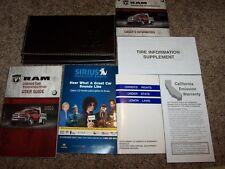2011 Dodge Ram 4500 Owner Operator Manual ST STL Longhorn Laramie Diesel 6.7L V6