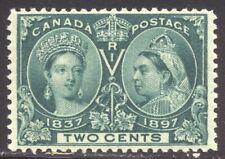 Canada #52 Mint Nh Beauty - 1897 2c Jubilee ($92)