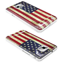 Samsung Galaxy S2 i9100 Handy Hülle Back Cover Case mit Amerika Design