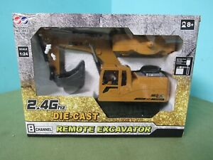 AO-HAI Die-Cast REMOTE EXCAVATOR - 1:24 Model 2.4Ghz 8 Channel