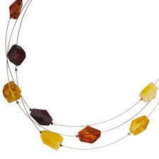 Natürliche Bernstein Modeschmuck-Halsketten