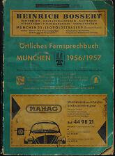 Örtliches Fernsprechbuch München 1956/1957