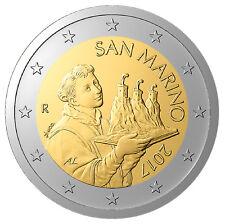 San Marino -  2 Euros 2017 Bi-Metallic  (New Design)  UNCIRCULATED