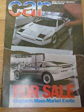 Car Dec 1984 Ford Capri Injection vs Alfa Romeo GTV6, XR2 vs 205 GTi vs Metro
