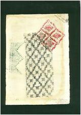 SONIA TERK DELAUNAY - woodcut on original paper of 30's