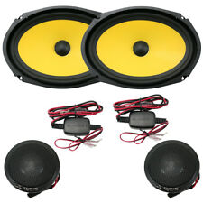 "JL Audio C1-690 C1 Series 6"" x 9"" 2-Way Component Car Audio Speakers 6x9 New"
