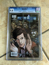 DOCTOR WHO #3 cgc 9.8 11th Doctor ONGOING IDW from 2011 with AMY & RORY