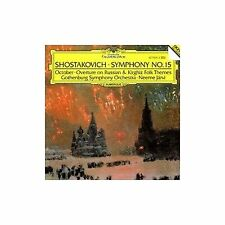 Shostakovich:Symphony No.15/October Op.131/Overture On Russian and Kirghiz Folk