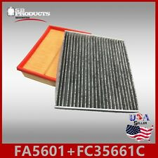 FA5601 FC35661C(CARBON) ENGINE & CABIN AIR FILTER ~ 2006-2008 SONATA 4CYL 2.4L