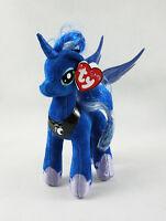 "8"" TY Beanie Babies My Little Pony Princess Luna Gift Plush Stuffed Soft Toy"