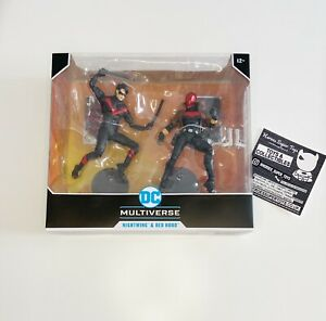 """McFarlane Toys DC Multiverse Nightwing vs Red Hood 7"""" Inch Action Figure 2-Pack"""