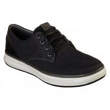 Para Hombre Skechers 'Moreno Ederson' Oxford Negro Informales Zapatos De Lona