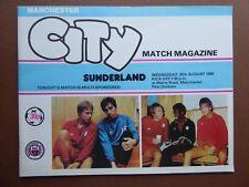 Excellent 1980 Manchester City v Sunderland