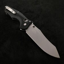 "Benchmade 810 Contego AXIS Lock Knife CPM M4 3.98"" Steel Blade w/G10 handles"