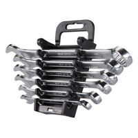 Combination Spanner Set 6pc 8 - 17mm Metric Spanners Wrench Mechanic Automotive