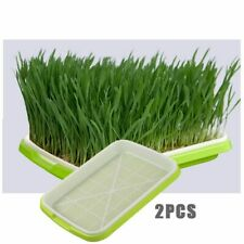 Seedling Tray Double Layer Plastic Hydroponics Garden Soilless Cultivation Pot