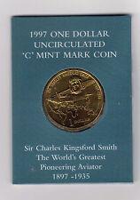 1997 RAM $1 UNC  ''C'' Mintmark (Sir Charles Kingsford Smith)