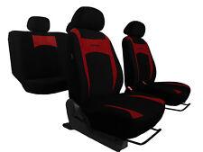 Conjunto De Alta Calidad Rojo Oscuro Smart Fundas De Asiento Para VW Golf MK5