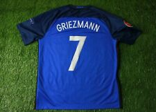 FRANCE TEAM # 7 GRIEZMANN 2016/2017 FOOTBALL SHIRT JERSEY HOME NIKE ORIGINAL