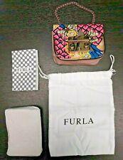 Woman Furla Metropolis Mini Cosmetic Case Toni Magnolia In Toni Magnolia-pink