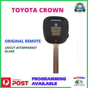 TOYOTA CROWN S170 genuine remote and uncut key