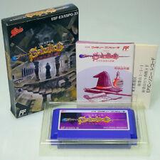SOLSTICE Famicom Nintendo FC Japan Import PinBall NES NTSC-J look somewhat used
