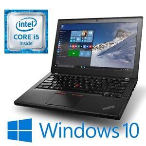 "Lenovo ThinkPad X260 Intel i5 6300U 8G 256G SSD WiFi 12.5"" LED HDMI Win 10 Pro"