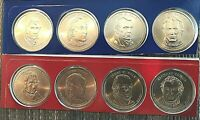 "2009 P+D  (8) COIN SET UNCIRCULATED ""SATiN FINISH"" PRESIDENTIAL"