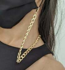 Mask Chain & Glasses Chain - 18ct Gold Plated Necklace (CHUNKY STYLE)
