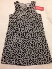 "NWT Gymboree 5, Girls ""Tres Fabulous"" Gray Velvet Dress"
