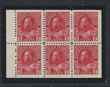 CANADA    SC 106a     MINT    TOP CENTER STAMP HINGED