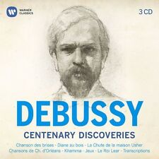 Claude Debussy - Debussy Centenary Premieres [New CD]