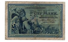 Allemagne GERMANY Billet 5 MARK 1904 P8  EMPIRE  BON ETAT