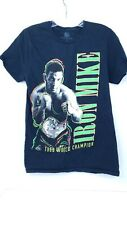 Official Boxing Hall of Fame  Iron Mike Tyson 1988 World Champion Shirt Small
