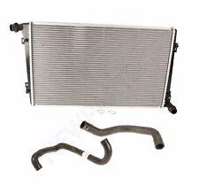 VW Jetta TDI 05-06 Aluminum Radiator Lower Return and Upper Supply Coolant Kit