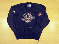 vintage starter 1997 nba all star weekend cleveland pullover jacket rare vtg