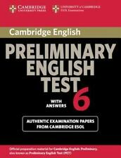 PET Practice Tests: Cambridge Preliminary English Test 6 Student's Book with...