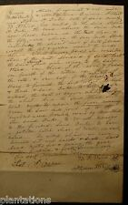 1847 LAND RENT BUTTS COUNTY Document STATE OF GEORGIA-LAND & SAW MILL