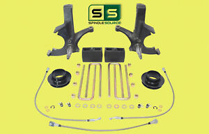 """7""""/5"""" SPINDLES,BLKS,SPACER,BKLN W/O.L. FITS 88-00 CHEVY C2500/C3500 2WD 8 LUG"""
